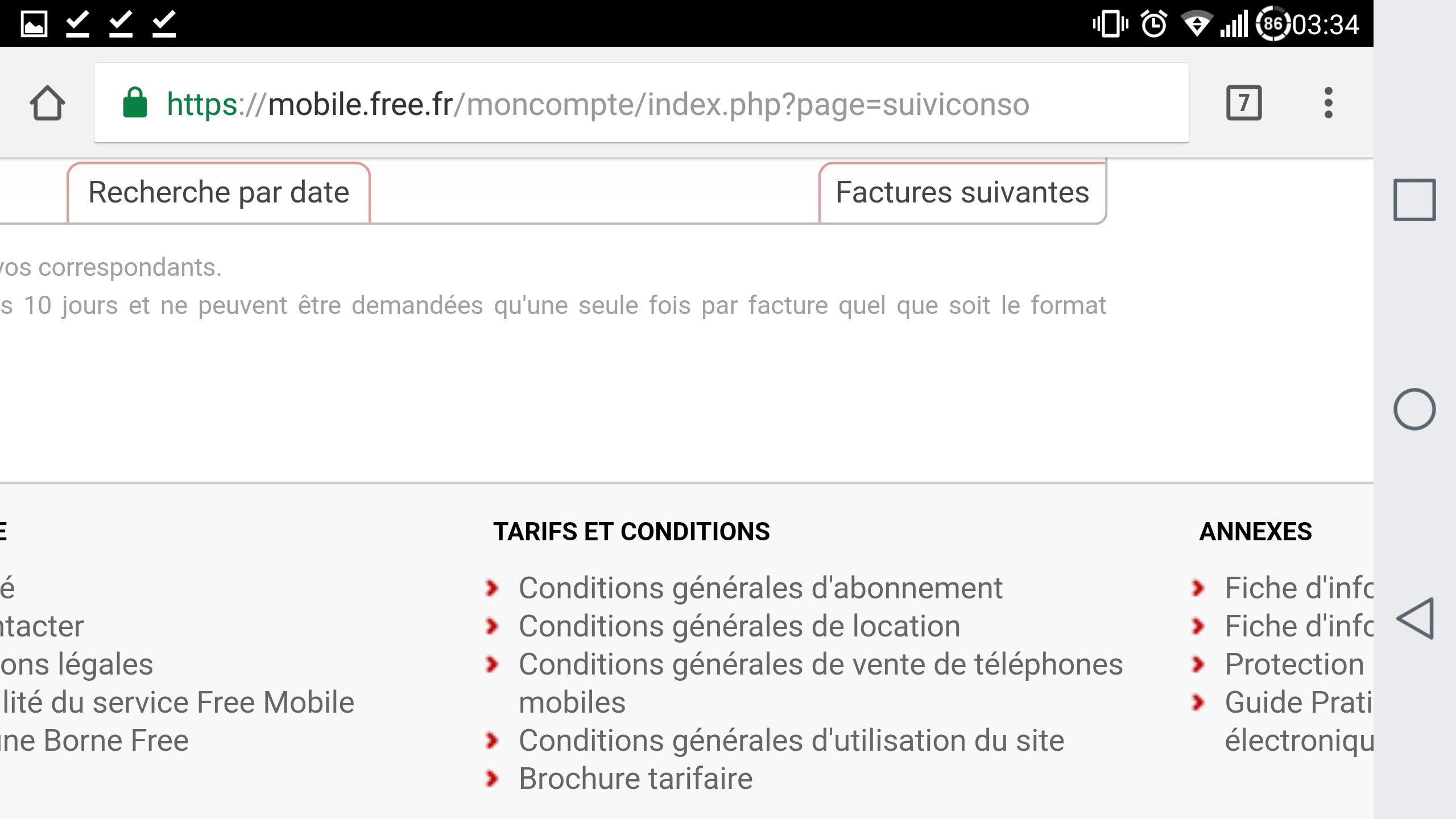 https mobile free fr moncompte index php page recouvrement